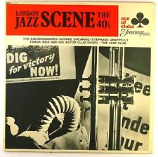 "12"" LP - Various - London Jazz Scene The 40's - D12 - washed & cleaned"