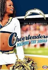 NFL Cheerleaders: Making the Squad - San Diego Chargers (DVD) Brand New-Sealed