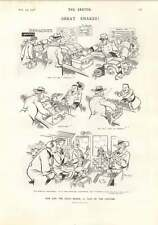 1906 Cigar Snake Beats Customs Sailing Boat For 25 Shillings