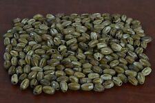 "80 PCS COFFEE BROWN CARVED TUBE BONE BEADING BEADS 3/8"" #T-1587"