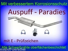 Mittelschalldämpfer Auspuff Mitteltopf VW T4 2.5 TDi Bus & Kasten (111KW) + Kit
