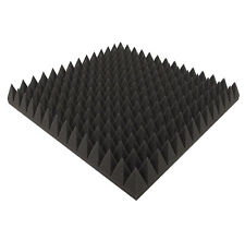 Pyramidenschaumstoff Akustikschaumstoff Pyramiden Akustik Dämmung Tonstudio 7 cm