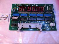 Foss Electric 180380-5S PCB Display Milko Mark III MK Milk Fat Tester - Used