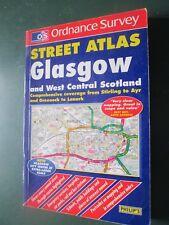 Ordnance Survey  street atlas book -  GLASGOW and West Central  Scotland