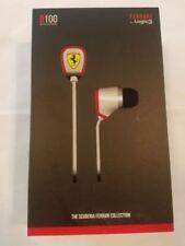 Scuderia Ferrari Vent R100 Noise Isolating Earphones Mic1 Remote (black) Logic3