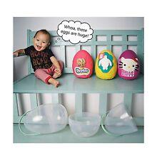"1 Surprise Egg Large Plastic Jumbo Giant  10"" XL (Perfect for Surprise Egg)"