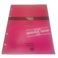 John Deere JD500-C Backhoe Loader Operator's Manual OM-T40201 Issue K2 Dealer