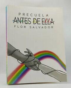 Libro en fisico Antes de Ella Precuela (Boulevard 3) por Flor M. Salvador