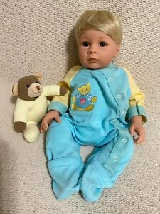 Middleton Newborn Baby Boy Doll Loyal From the Heart Sweet Melody by Eva Helland
