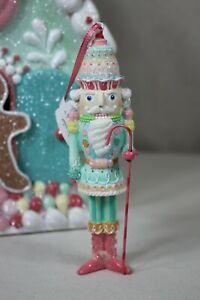 Weihnachtsdekoration December Diamonds Nußknacker Aufhänger Pastell 15cm NEU