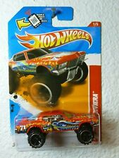 Bright Red 2012 Hot Wheels '71 BUICK RIVIERA #216 Thrill Racers - Prehistoric