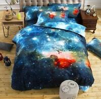 3D Starry Sky Bedding Set Doona Duvet Cover Quilt Cover Set Twin Queen Size