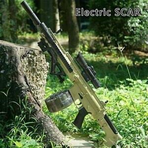 Scarl Electric Gel Blaster Toy Gun Water Crystal Kids Toy Gift + Toy Bullets