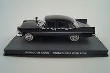 Modello di auto 1:43 James Bond 007 Plymouth Savoy * con amore da Mosca