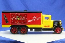 Vintage COCA-COLA Musical Delivery Truck Alarm Clock. Working.