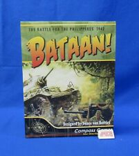 Compass Games 2010 Bataan! Battle for the Philippines Game Unpunched Pieces