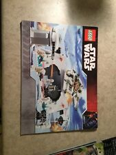 LEGO INSTRUCTION MANUAL ONLY – 7666 – STAR WARS – Hoth Rebel Base