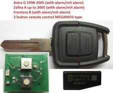 Opel Zafira Astra MEGAMOS Key Radio Key Remote Transponder id40