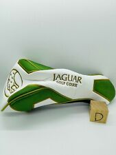 Yucatan Country Club Jaguar Golf Course Members Leather Driver Headcover Rare