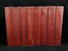 Partial Set 8 Books SMITHSONIAN SCIENTIFIC SERIES Vols. 1 3 5 6 8 10 11 12 ©1934
