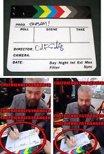 "DAVID F. SANDBERG signed ""SHAZAM"" MOVIE CLAPPER BOARD - EXACT PROOF Director COA"