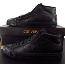 Converse One Star Mid Leather Sneaker Black Lunarlon 155518C 7.5 Men (9.5 Women)