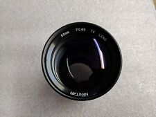 Used Navitar 50mm F0.95 High-Speed C-Mount Lens