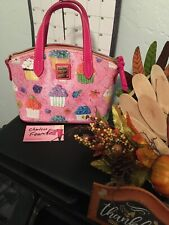 Dooney And Bourke Ruby Pink Cupcake Satchel NWT