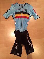Belgian National Team Cycling Road Skinsuit Zeitfahranzug Boonen Van Avermaet