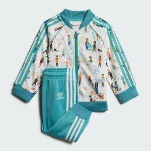 adidas Originals infant multi Superstar tracksuit. Ages 0-3 months.