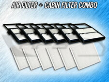 6 AIR FILTERS 6 CABIN FILTERS COMBO FOR 2005 2006 2007 2008 2009 TOYOTA PRIUS