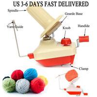 Hand Operated Yarn Winder Fiber String Ball Wool Thread Skein Winder Machine