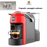 Macchina caffè a capsule Lavazza A Modo Mio Jolie colore Rosso con omaggio