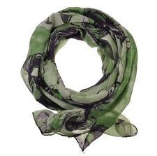 Sciarpe, foulard e scialli da donna verde floreale