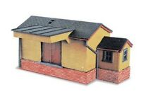 Goods Shed, wooden type - N gauge Peco NB-6