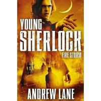 Fire Storm (Young Sherlock Holmes), By Lane, Andrew,in Used but Acceptable condi