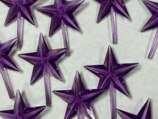Tree toppers for ceramic trees purple lot of 10