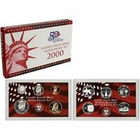 2000-S 90% Silver Proof Set US Mint Original Government Packaging.Bonus!