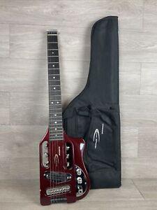 Traveler Guitar Speedster Electric Red With Bag