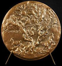 Médaille Marcel Pagnol sc R Corbin 1975 323g Topaze Marius Fanny cesar Medal