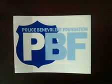 2 FOP PBA/PBF Vehicle Window Decals! Recognized In ALL 50 States!
