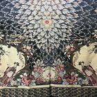 "Vintage Chinese Japanese Asian Tapestry LRG Panel Ruan Geisha Girl Floral 84x47"""