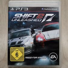 Shift 2 Unleashed Need For Speed / 2011 EA Games / Sony PlayStation 3, PS3 / Top