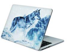 Universal portátil skin portátil netbook macbook Pegatina Sticker Snow Wolf