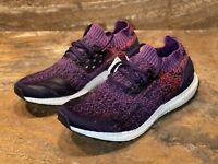 Adidas Ultraboost Uncaged Size US 10.5 Purple White Men's Running Shoes D97404