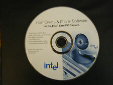 Intel Create & Share Software for the Intel Easy PC Camera (CD, 2000)