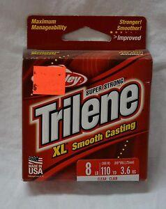 Berkley trilene XL smooth casting line 8 lbs (110 yards ) # xlps8-15  ( #bte16 )