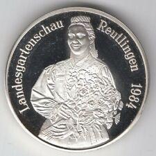 Deutschland - Medaille 1984 Silber PP - Landesgartenschau Reutlingen - 1000 fein