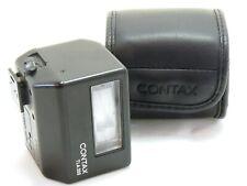 Contax TLA 200 shoe mount flash black with case MINT- #35911