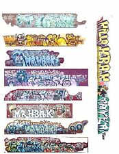 """HBAK """" HELL BRED A KILLER"""" GRAFFITI  01 FROM REAL PHOTOS COVERED HOPPERS AUTO"""